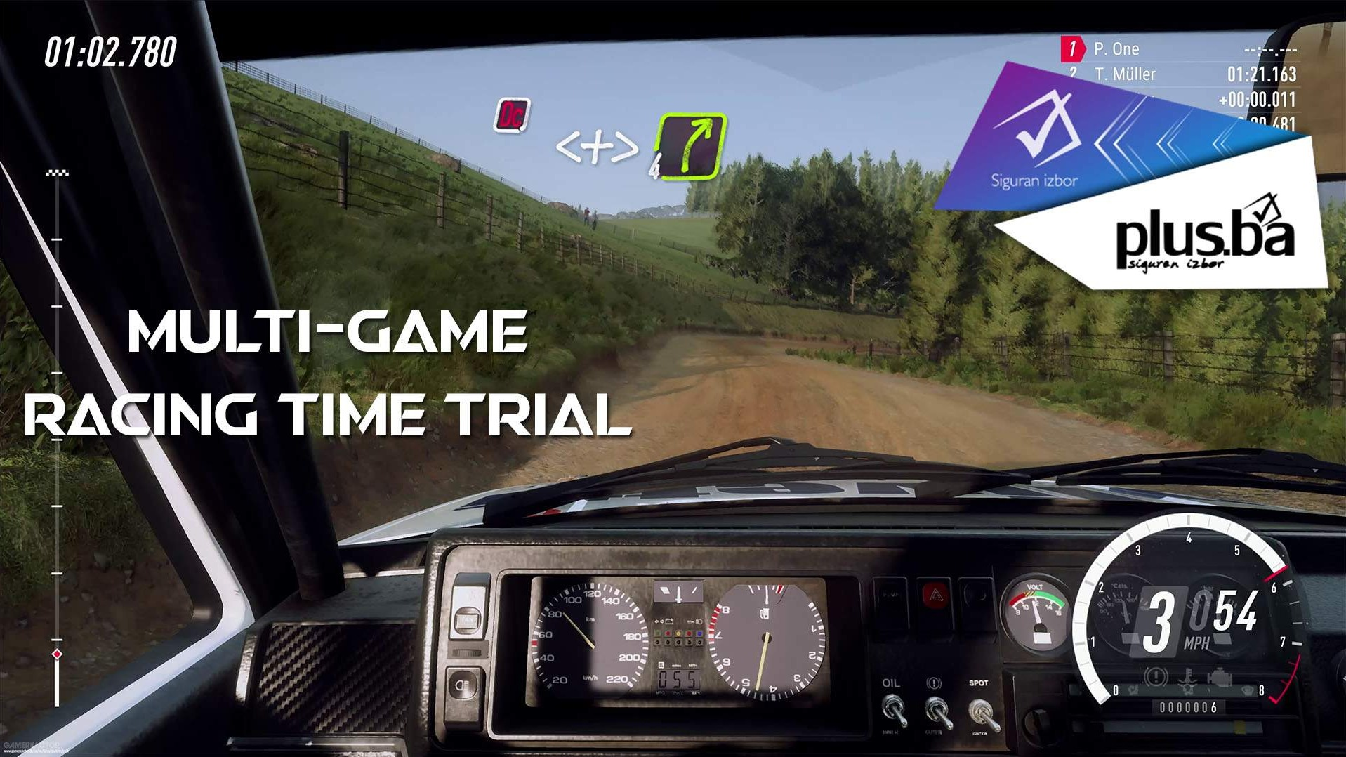 Multi-game Racing Time Trial